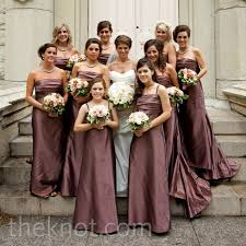 violet bridesmaid dresses mauve bridesmaid dresses