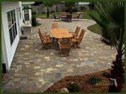 Backyard Paver Patios Ideas For Paver Patios Design 17 Best Ideas About Paver