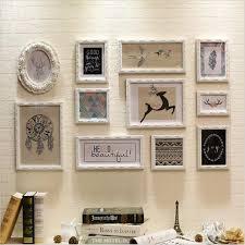 cornici per foto wooden picture frame cornici per foto vintage wooden frame set