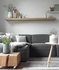salon canapé gris déco salon deco salon moderne combinaison de différente nuances du
