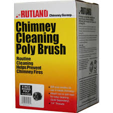 rutland 6 in chimney sweep round cleaning poly brush 16906 the