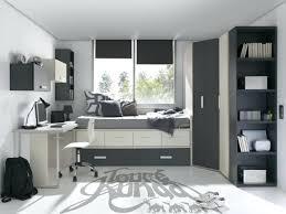 chambre ado chambre garcon ado chmabre garcon blanc gris amenagement chambre