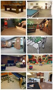 stone flooring and recreational room vulcan basement