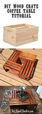 diy wooden crate coffee table wood crates crates and budgeting