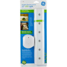 ge 6 led utility remote controlled light white walmart com