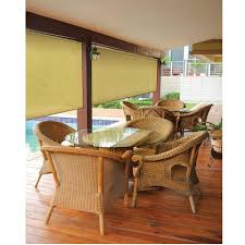 coolaroo select southern sunset 90 uv block exterior roller shade
