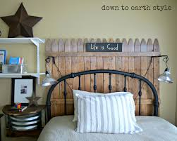 uncategorized creative iron sheet headboard wooden wall panel