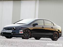 2008 honda civic si kiss of the black widow honda tuning