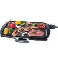 plancha cuisine plancha de table plancha electrique 46 x 26 cm cuisine barbecue