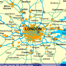 England Counties Map by London And Surrounding Counties Map London Map