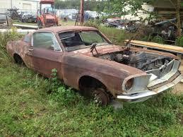 mustang fastback roof 1968 mustang fastback 390 gt rustingmusclecars com
