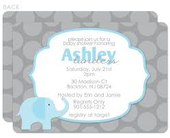 Baby Shower Invitations Card Best Collection Of Elephant Baby Shower Invitations Boy To Inspire
