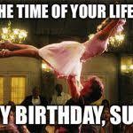Happy Birthday Meme Dirty - dirty dancing lift birthday lindsay blank template imgflip