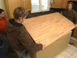 making kitchen island how to build a kitchen island hgtv