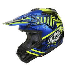 motocross helmet 2017 arai mx v motocross mx helmet star yellow dirtbikebitz