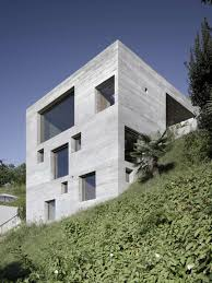 house plans steep hillside