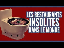 top 10 des cuisines du monde top 10 des restaurants insolites dans le monde