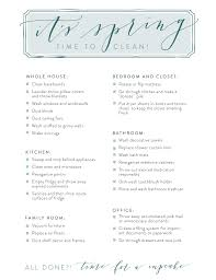 House Cleaning List Template Spring Cleaning Joanna Gaines Blog Cleaning Checklist Printable