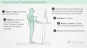 stylish ergonomic standing desk setup lovely interior design ideas