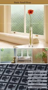 glass door stickers static cling frosted opaque butterfly stained glass window film