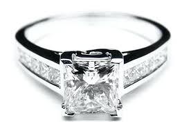 platinum princess cut engagement rings channel set princess cut engagement ring platinum princess