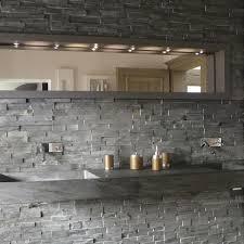badezimmer schiefer verblender schiefer schwarz g naturstein baumaterial