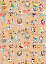 owl christmas wrapping paper paper salad new owl gift wrap but which background shall we choose