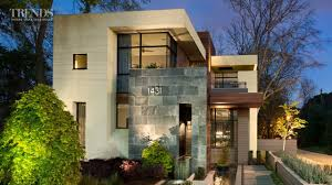Modern Home Designs by Contemporary Suburban New Home In Atlanta On Exposed Corner Lot