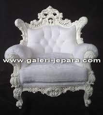 White Fluffy Chair Indonesia Furniture Manufacture Buy Single Sofa Set Product On