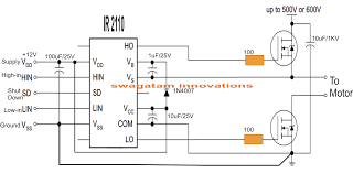 electronic circuit projects single phase variable frequency drive