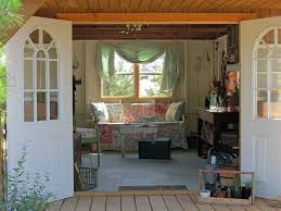 potting shed great doors and light interior shed ideas
