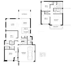 amusing double storey house plans for narrow blocks ideas best