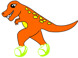 Running Baby Meme - the official mascot revealed no seriously the t rex runner