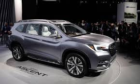 volkswagen suv 3 rows ascent concept promises subaru u0027s return to 3 row crossover segment