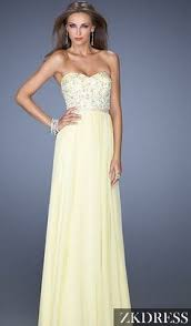 light yellow prom dresses party in chiffon with this stylish prom dress by blush prom