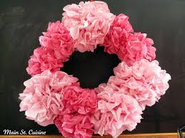 pom pom cuisine tissue paper pom pom wreath how to st cuisine