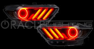 halo light rings images 2015 2017 ford mustang gt shelby v6 eco boost halo led headlight jpg