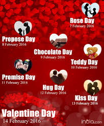 week list 2016 day propose day day complete
