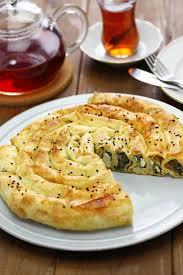 cuisine turque borek borek roulé fait maison cuisine turque image stock image du fond