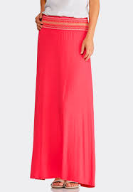 maxi skirt plus size smocked waist maxi skirt maxi cato fashions