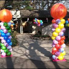 balloon delivery michigan balloon delivery company ballon decor in michigan party paradise