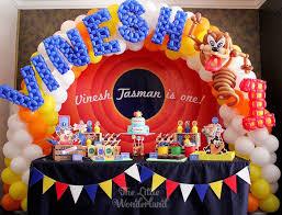 looney tunes tazmanian devil themed birthday party kara u0027s