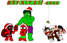 a merry marvel vs capcom by soryukey on deviantart