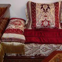 tissu canapé marocain evasion déco mobilier en fer forgé salon marocain décoration