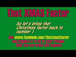 that xmas factor a christmas single youtube