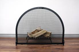 arch fireplace screen anvil fireside