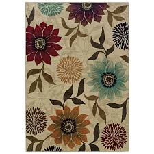 Lowes Indoor Outdoor Rugs by Shop Oriental Weavers Of America Cumberland 7 Ft 8 In X 10 Ft 10
