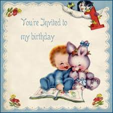 vintage birthday invitations u2013 gangcraft net