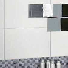 tuscany white gloss rectified wall tile