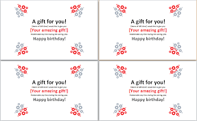 birthday gift certificate template ms word word u0026 excel templates